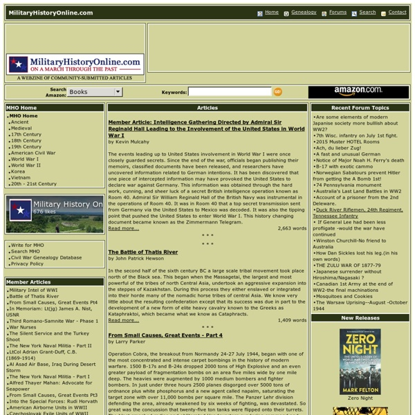 Military History Online