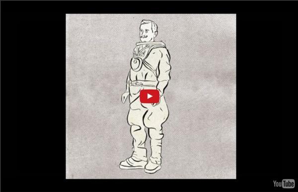 550 million years of human evolution [animation]