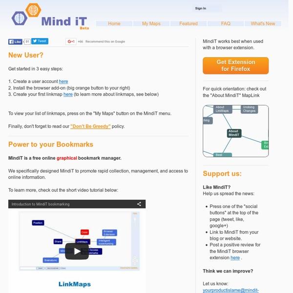 Mind iT - Intelligent Bookmarking