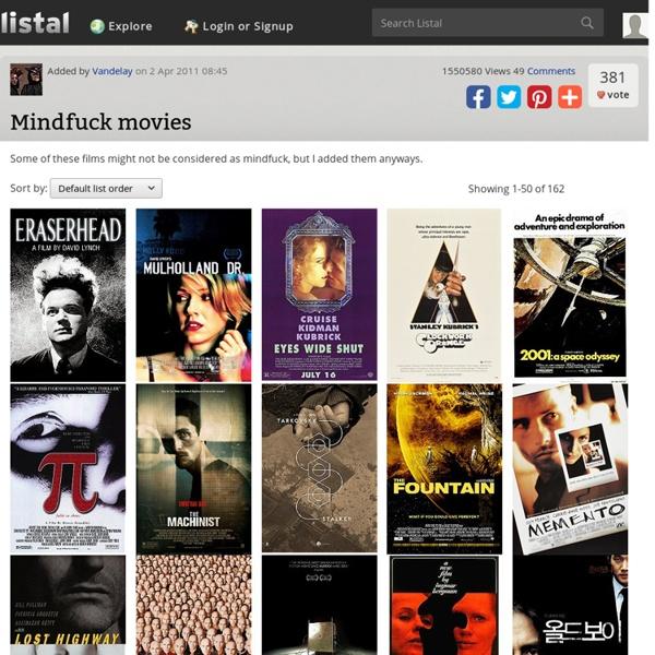 Mindfuck Movies list