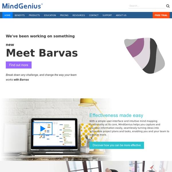 MindGenius - Mind Mapping Software