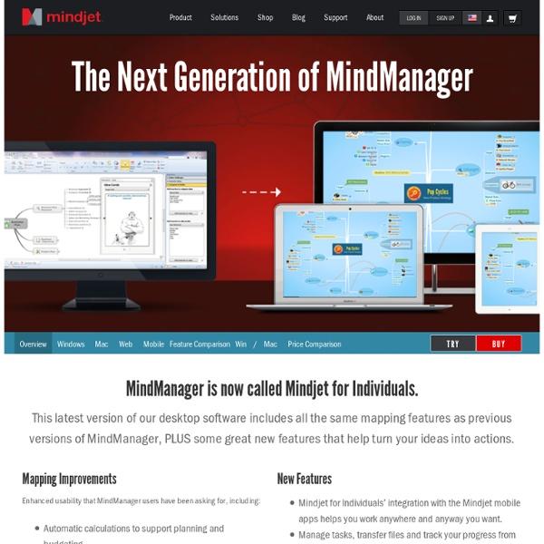 MindManager 9 pour Windows – APERÇU