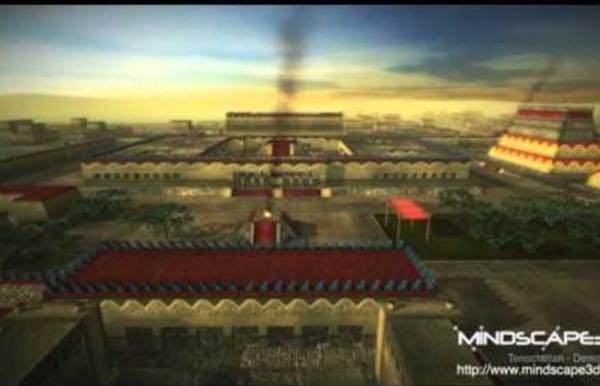 Mindscape3D Tenochtitlan 3D Flyby