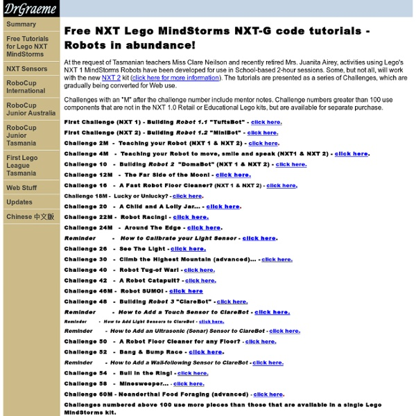 Free lego mindstorms ev3 tutorial videos for beginners using ev3-g.
