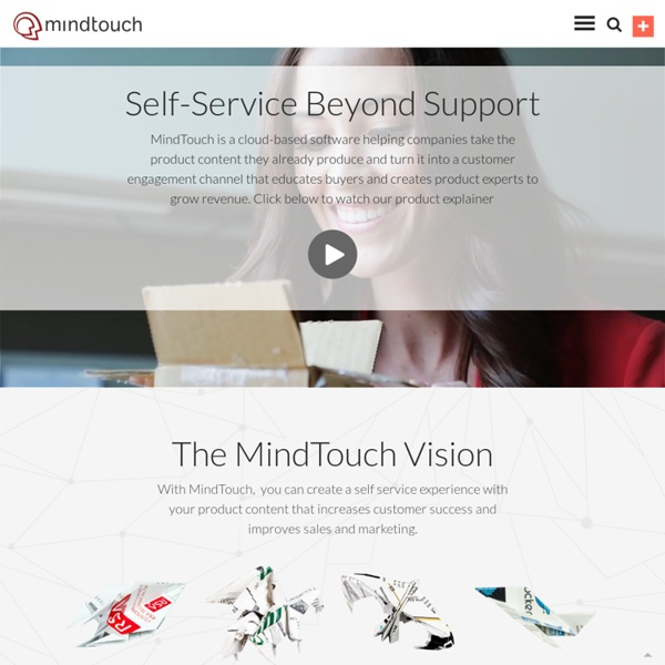 Social Knowledge Base and Product Help Communities - MindTouch, Inc.