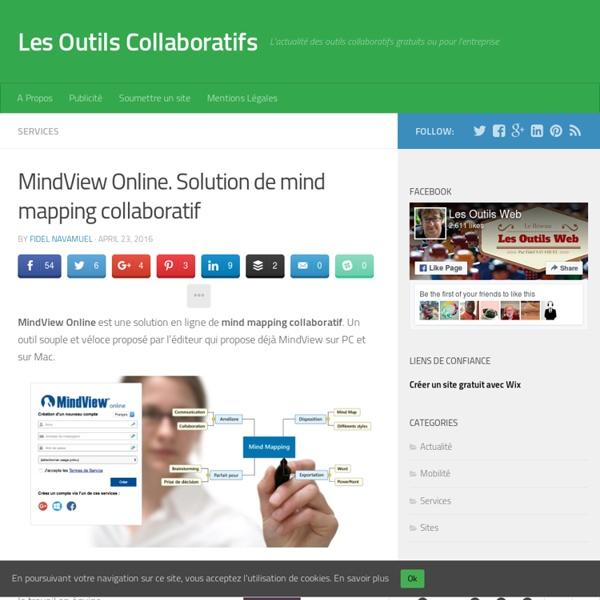 MindView Online. Solution de mind mapping collaboratif