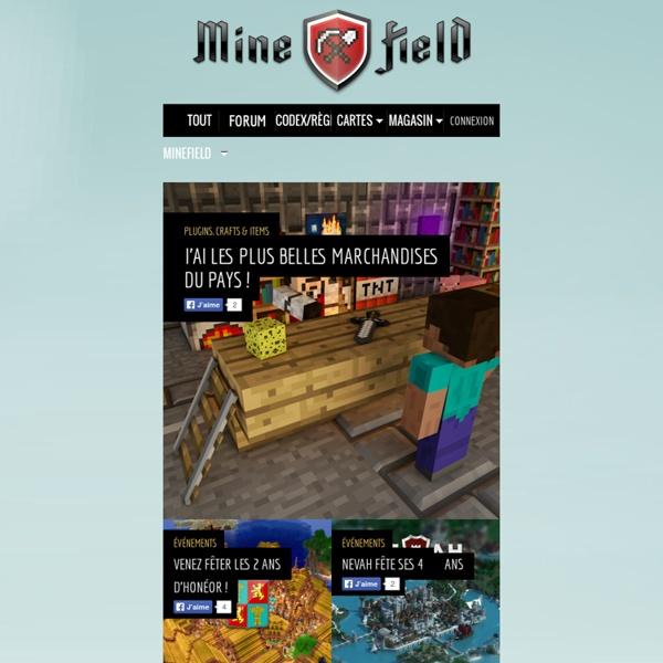 Serveur Minecraft francophone N°1