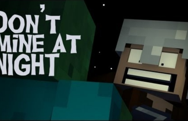 """Don't Mine At Night"" - A Minecraft Parody of Katy Perry's Last Friday Night"
