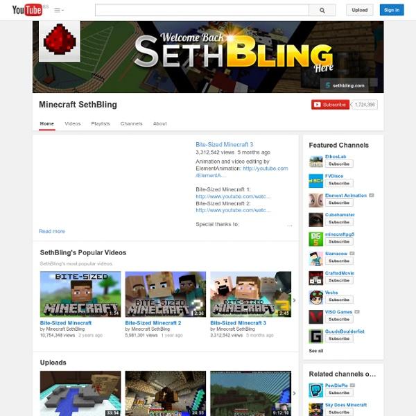 SethBling's Minecraft Channel