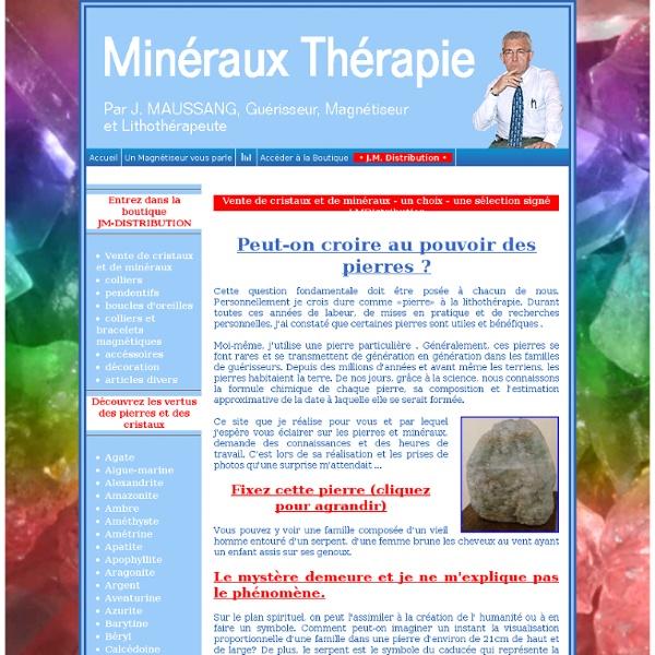 La Minéraux Thérapie
