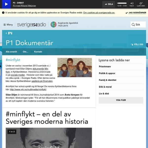 #minflykt - P1 Dokumentär