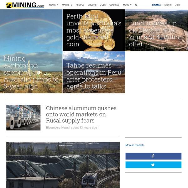 Mining News, Mining Companies and Market Information - MINING.com
