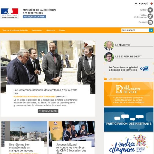 Ville.gouv.fr - Ministère de la Ville
