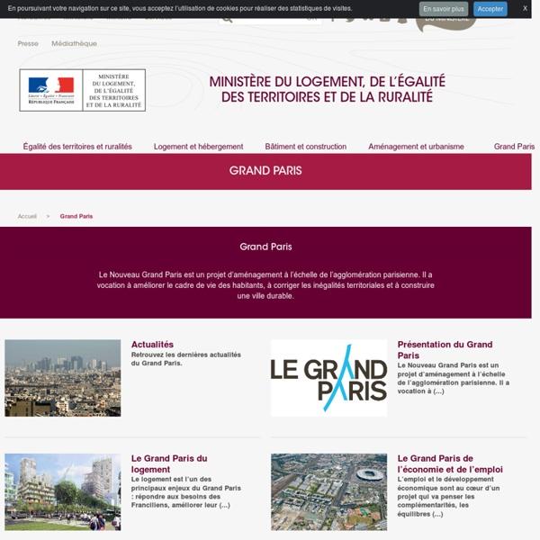 Présentation le Grand Paris