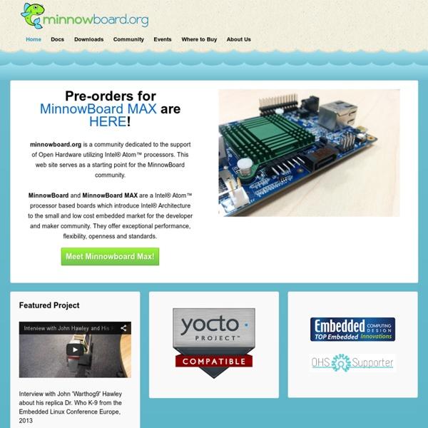 Minnowboard.org