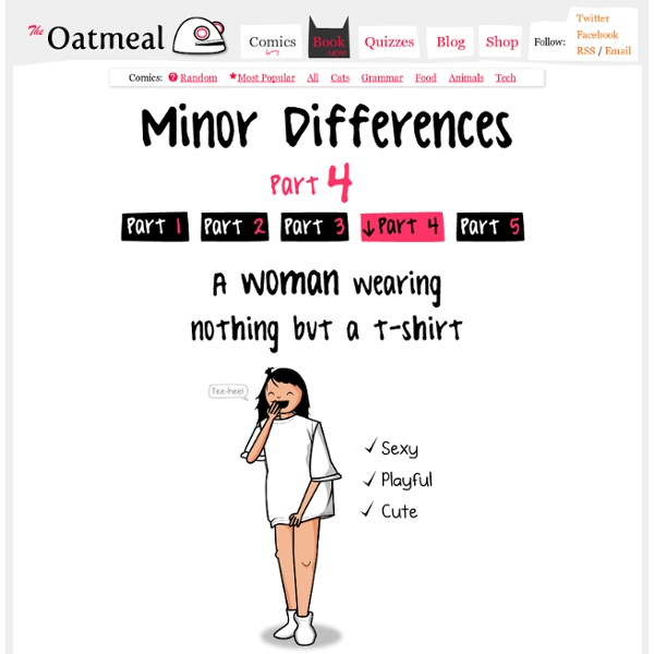 Minor Differences Part 4