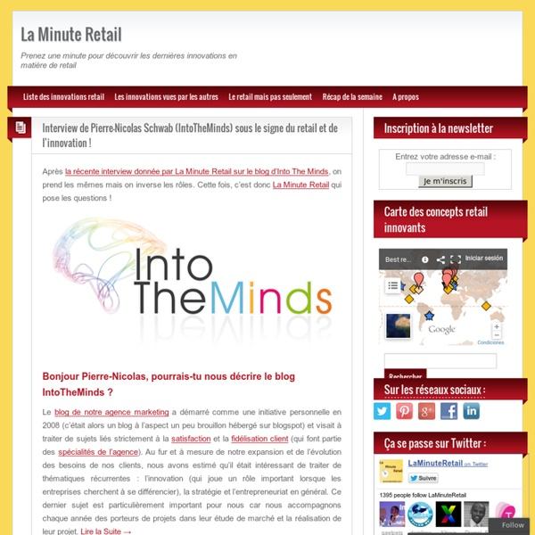 La Minute Retail - Blog au sujet des innovations retail