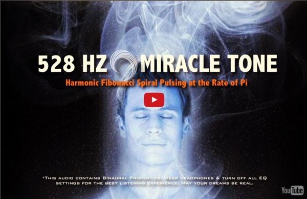 Miracle Tone: Harmonic Fibonacci Spiral Pulsing at the Rate of Pi