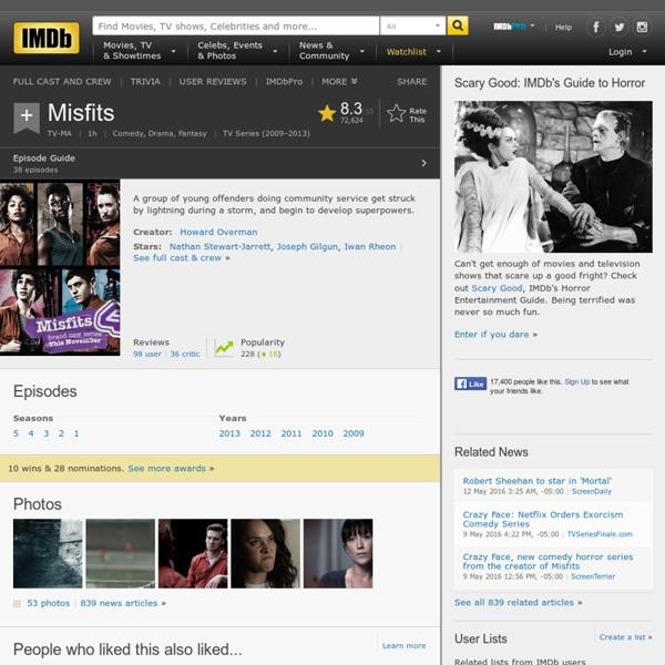 Misfits (TV Series 2009– )