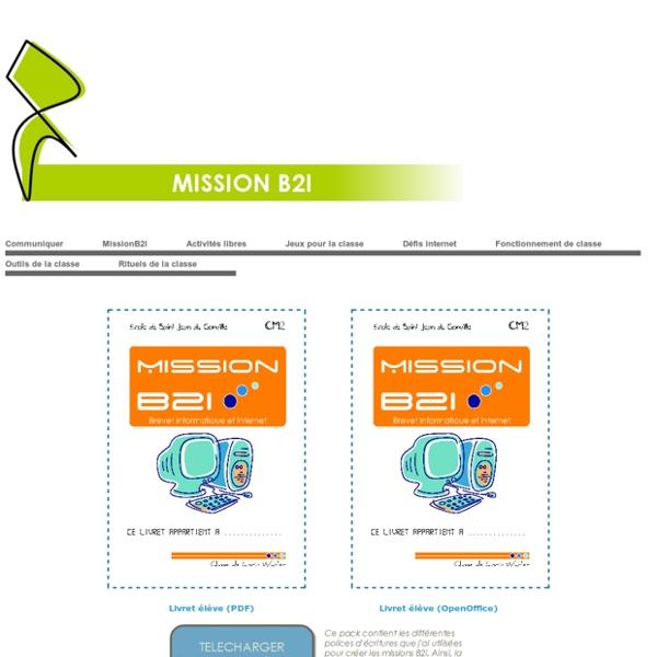 Mission B2i - B2i en autonomie