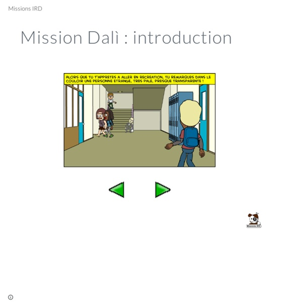 Mission Dalì : introduction - Missions IRD
