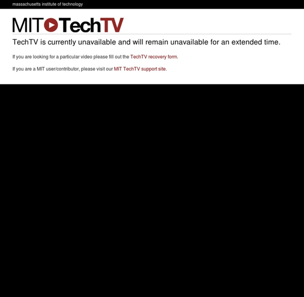 TechTV – Machine Shop 4