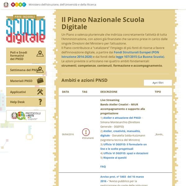 MIUR - Scuola Digitale