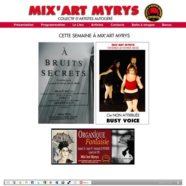 Mix'art Myrys