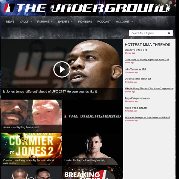 MMA.tv - The Best in Martial Arts - MMA.tv