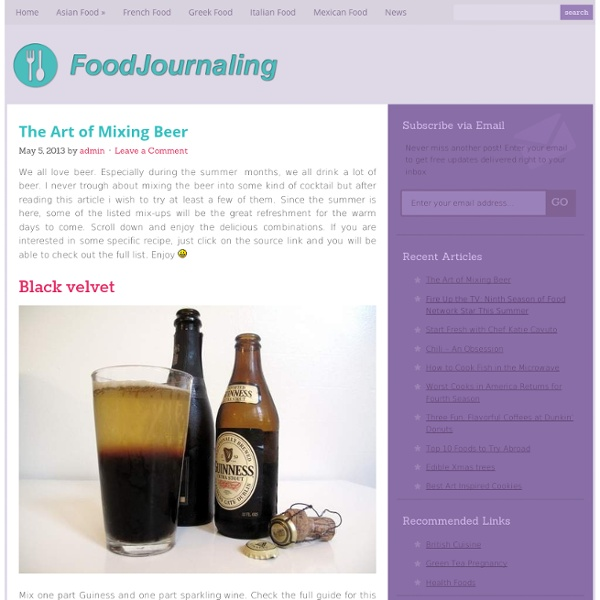 Food News Culture and Photography