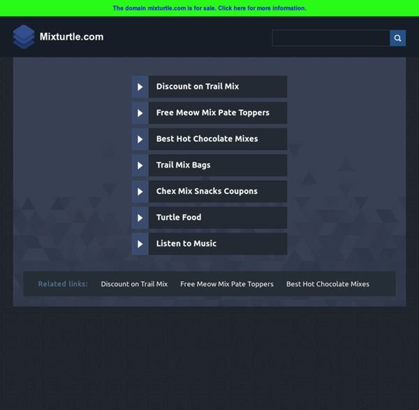 Mix Turtle - The Music Search Engine