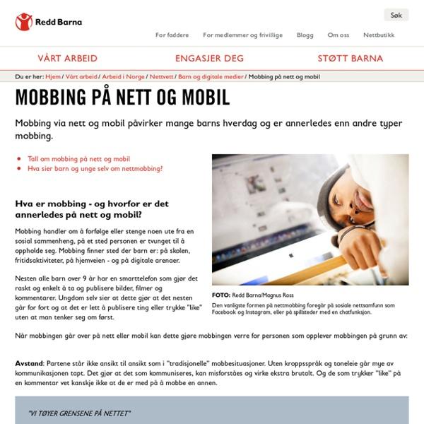 Mobbing på nett og mobil