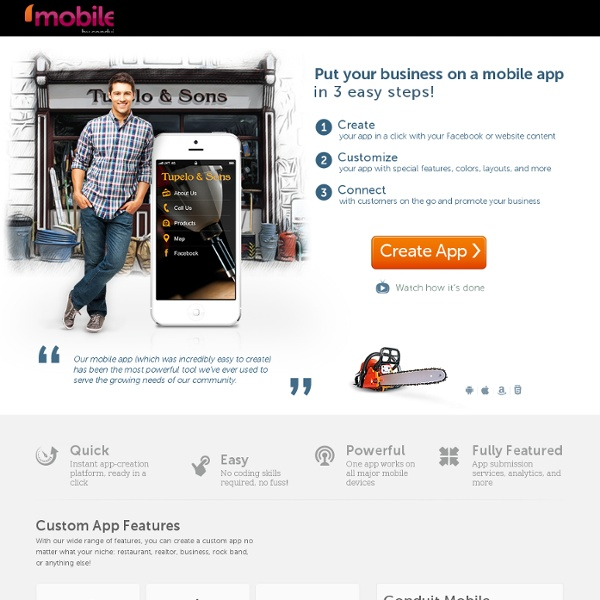 Make Your Business Mobile with an App – Conduit Mobile
