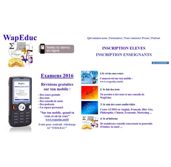 Mobile learning et cours gratuits
