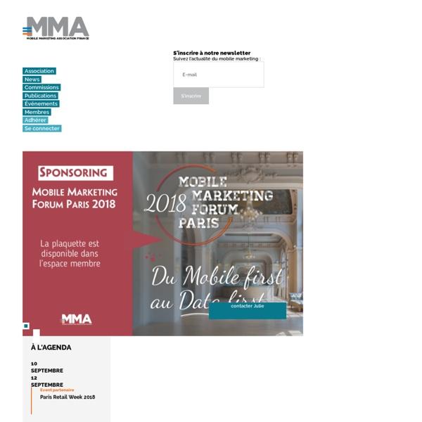 MMAF : Mobile Marketing Association France