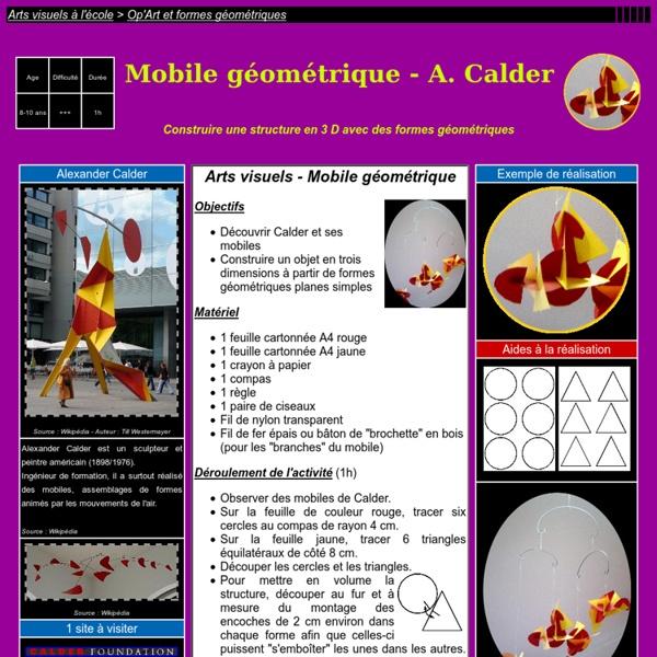 Mobiles de Calder