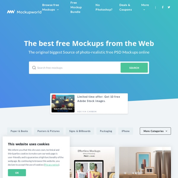 The best free Mockups from the Web