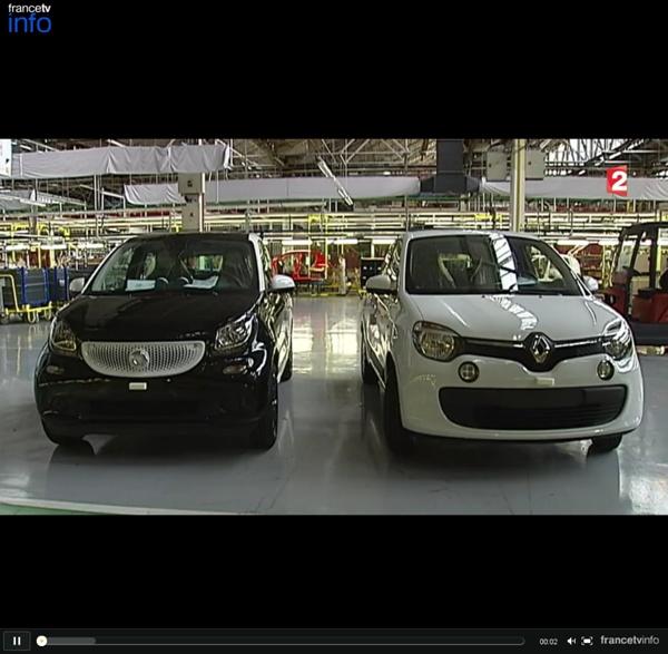 Deux modèles concurrents, une seule usine