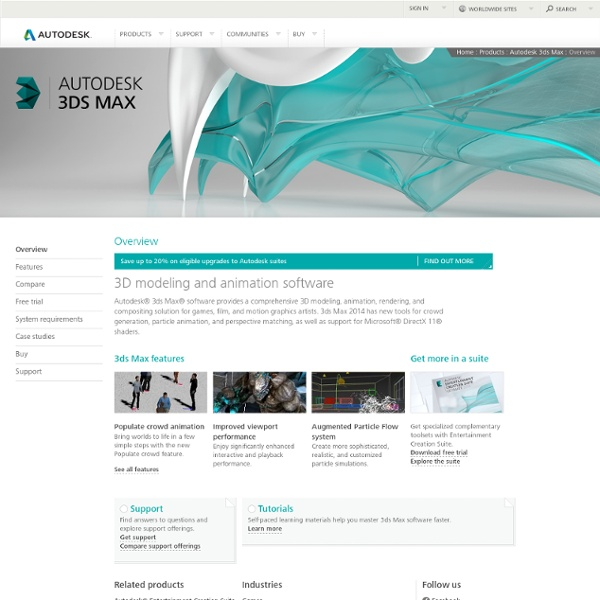 3ds Max - 3D Modeling, Animation, and Rendering Software