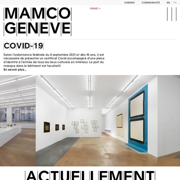 MAMCO, Musée d'art moderne et contemporain, Genève