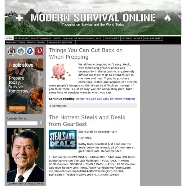 ModernSurvivalOnline.com
