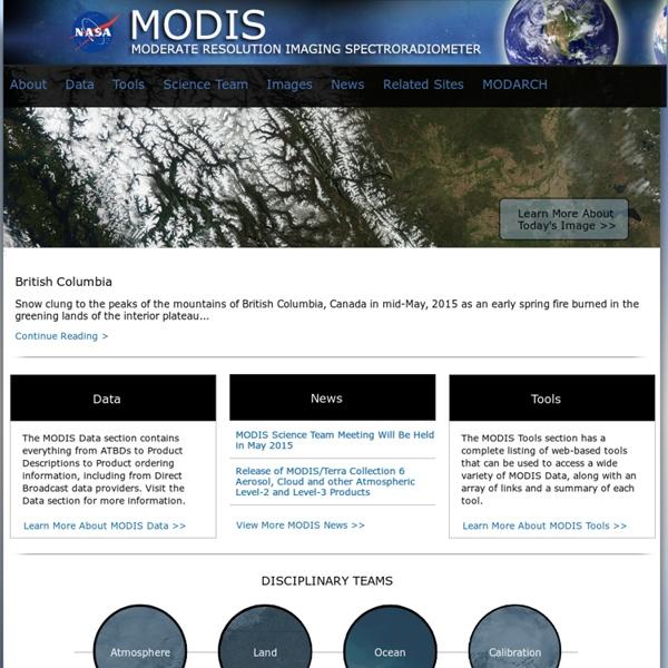 MODIS Website