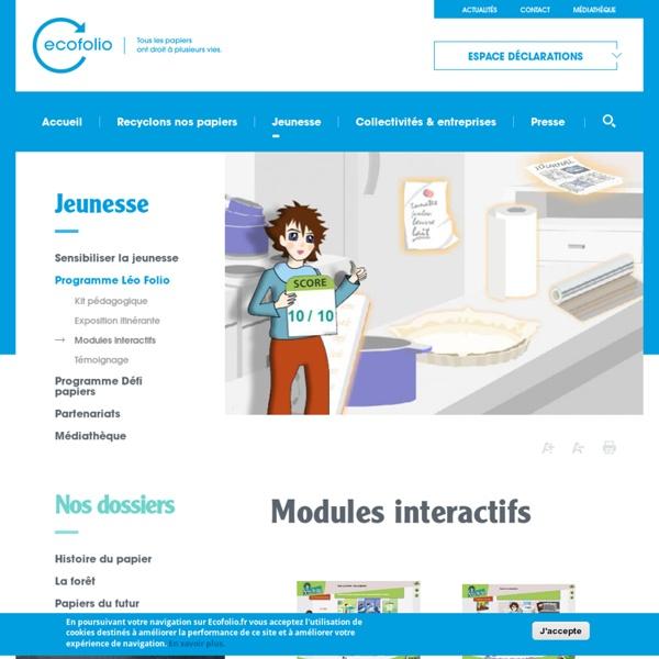 Modules interactifs