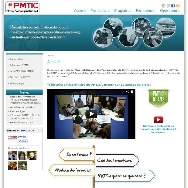 Sensibilisation Net + bureautique (Modules PMTIC)