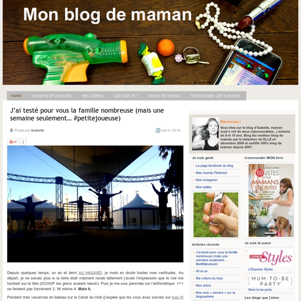 Mon blog de maman : blog de maman débordée