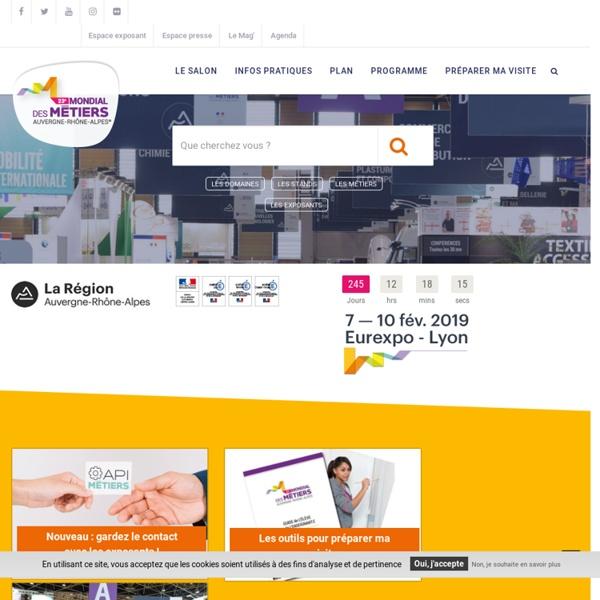 Mondial des métiers - Conférences 15e Mondial des Métiers