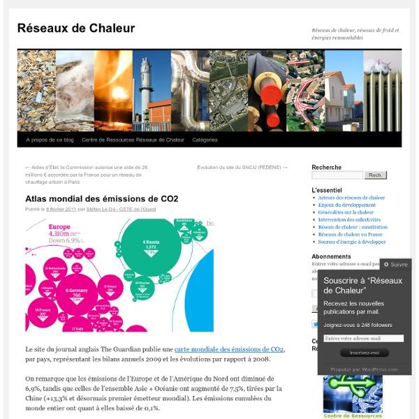 Atlas mondial des émissions de CO2
