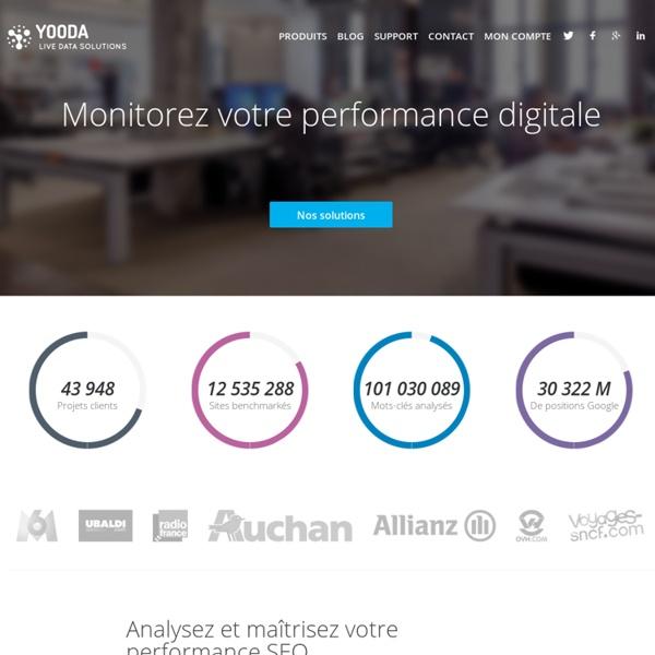 Yooda: Controle du positionnement et analyse du referencement