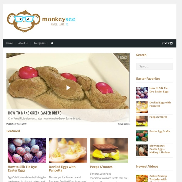 How to Videos on MonkeySee - Free Instructional Videos