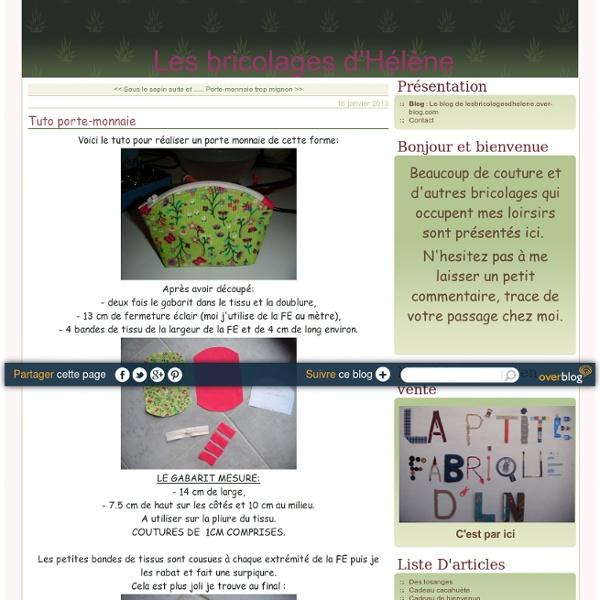 Tuto porte-monnaie - Le blog de lesbricolagesdhelene.over-blog.com